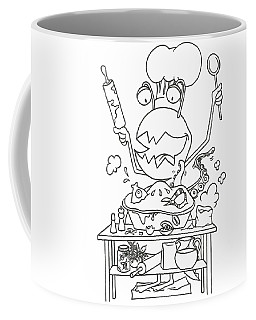 Closet Monster Baking Coffee Mug