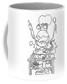 Closet Monster Baking Coffee Mug