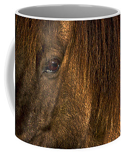 Closeup Of An Icelandic Horse #2 Coffee Mug