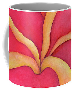 Closeup Of Red Rose Coffee Mug
