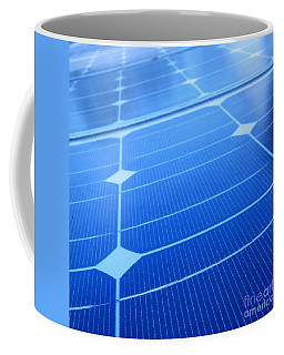 Closeup Of Solar Panels Coffee Mug