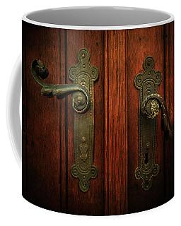 Closeup Of Two Ornamented Handles Coffee Mug by Jaroslaw Blaminsky