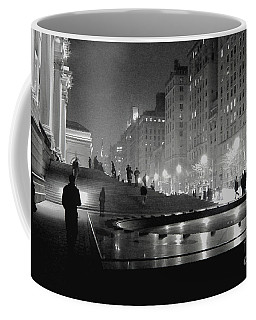 Coffee Mug featuring the photograph Closing At The Met by Sandy Moulder