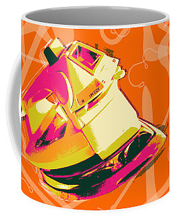 Clothes Iron Pop Art Coffee Mug