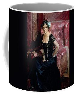 Clotilde In An Evening Dress Coffee Mug