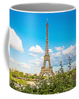 Cloud 9 - Eiffel Tower - Paris, France Coffee Mug