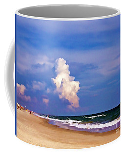 Coffee Mug featuring the photograph Cloud Approaching by Roberta Byram