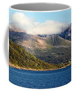 Cloud-capped Mountains Coffee Mug