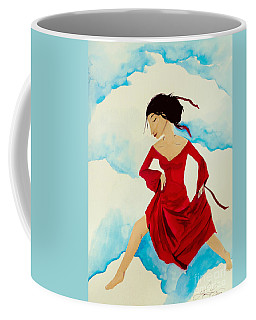 Cloud Dancing Of The Sky Warrior Coffee Mug