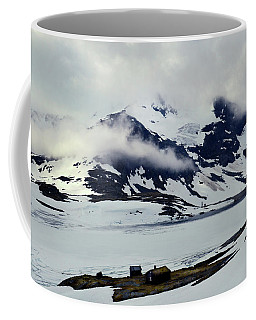 Cloud On Sognefjell Coffee Mug by Terence Davis