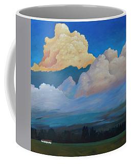 Cloud On The Rise Coffee Mug