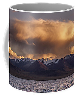 Cloud Over Namtso Coffee Mug