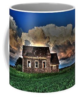 Cloud Over One Room School Coffee Mug