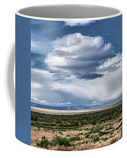 Cloud Traveling Over Open Ground Coffee Mug
