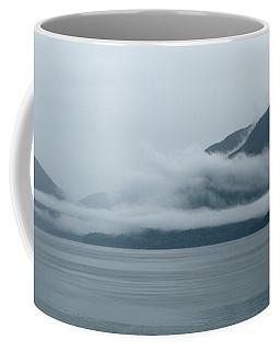 Cloud-wreathed Coastline Inside Passage Alaska Coffee Mug