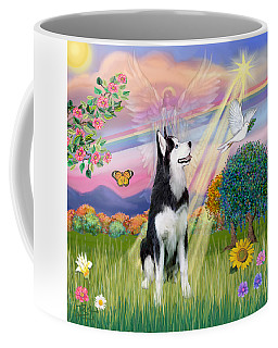 Cloudangel #1 - Siberian Husky Coffee Mug