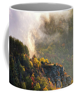 Clouds Above The Crest Of The Mountain Coffee Mug