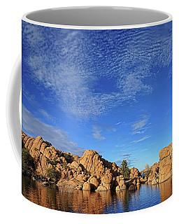 Clouds Above Watson Lake Coffee Mug