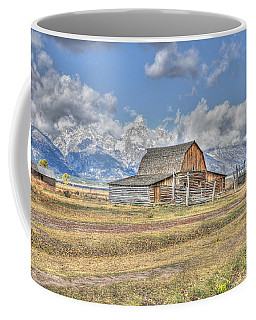 Clouds And Barn Coffee Mug