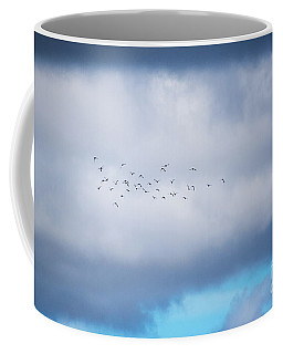Clouds And Ducks Coffee Mug