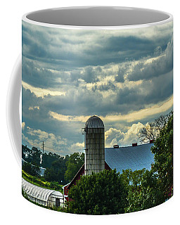Clouds And Light On A Barn Coffee Mug