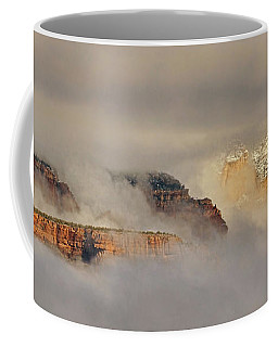 Clouds And Mist Pano Coffee Mug