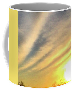 Coffee Mug featuring the photograph Clouds And Sun by Sumoflam Photography