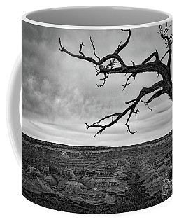 Coffee Mug featuring the photograph Clouds And The Canyon by Ana V Ramirez