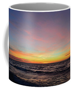 Coffee Mug featuring the photograph Clouds At Sunrise  by Lyle Crump