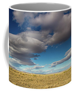Clouds In Fields Oregon Coffee Mug