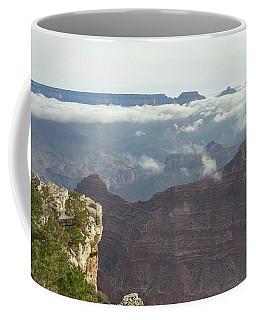 Clouds In The Grand Canyon Coffee Mug