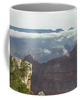 Clouds In The Grand Canyon Coffee Mug