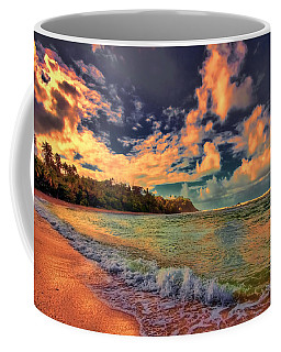 Clouds On Fire Coffee Mug