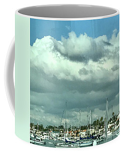 Clouds On The Bay Coffee Mug by Kim Nelson