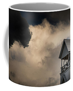 Clouds Over Bell Tower Coffee Mug