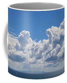 Clouds Over Catalina Island - Panorama Coffee Mug