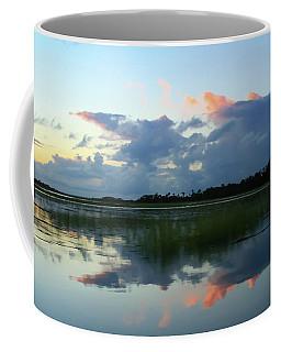 Clouds Over Marsh Coffee Mug