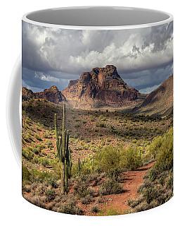 Clouds Over Red Mountain Coffee Mug