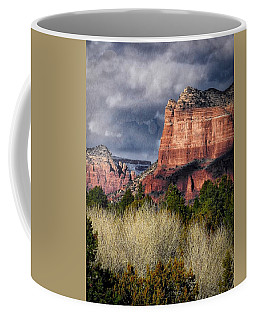 Clouds Over Sedona Coffee Mug