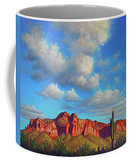 Clouds Over Superstitions Coffee Mug