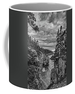 Clouds Over The Cliffs Coffee Mug
