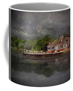 Clouds Over The Harbor Coffee Mug