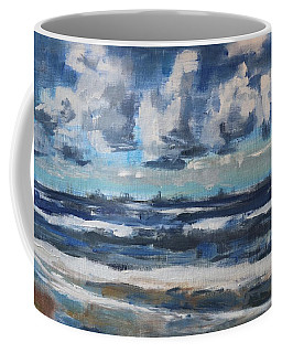 Clouds Over The North Sea On A Spring Day Coffee Mug
