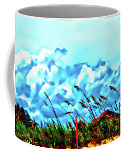 Clouds Over Vilano Beach Coffee Mug