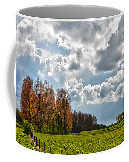 Clouds Over Voorne Coffee Mug