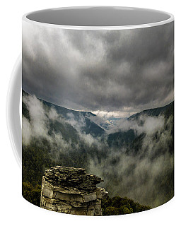 Clouds Rising At Lindy Point Coffee Mug