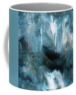 Clouds Rolling In- Abstract Art By Linda Woods Coffee Mug