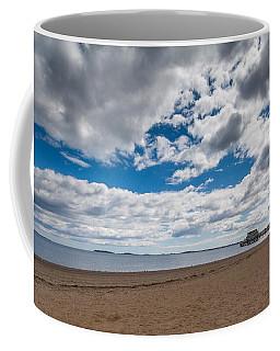 Cloudy Beach Day Coffee Mug