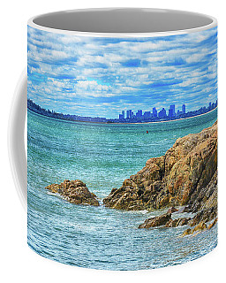 Cloudy Boston Coffee Mug