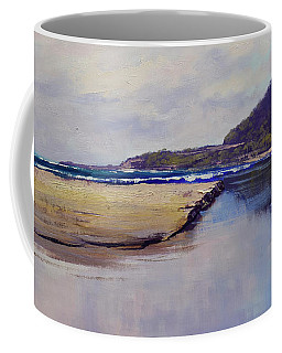 Cloudy Coastline Coffee Mug